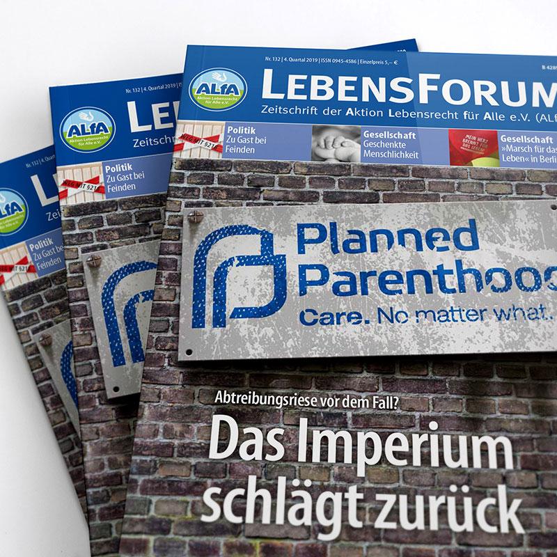 ALfA Magazin Lebensforum Archiv
